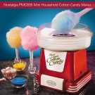 VANCY Retro Series Mini Household Cotton Candy Sugar Floss Maker Machine