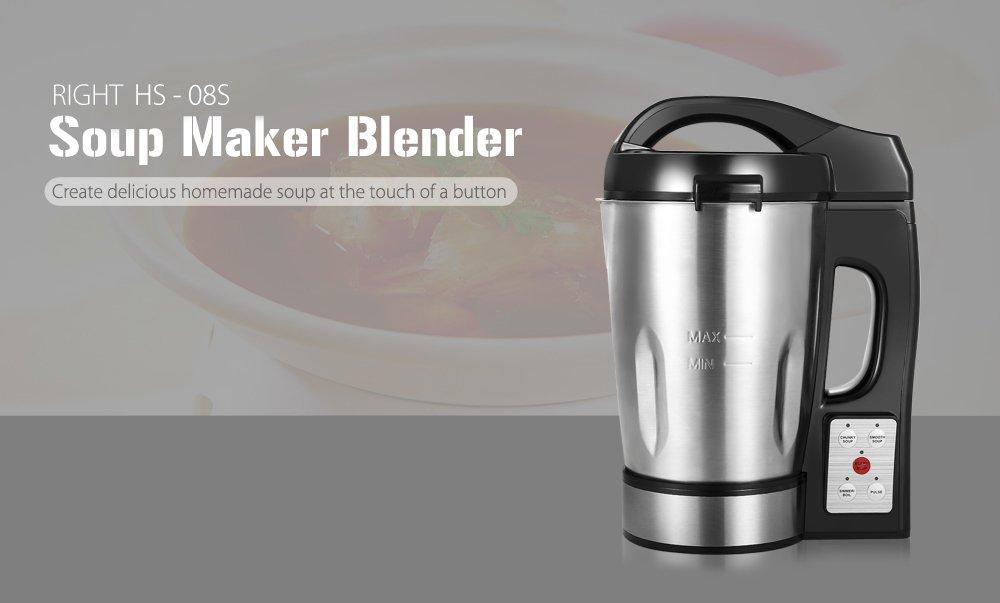 VANCY 08S 1.6L Soup Maker Soy Milk Juice Blender
