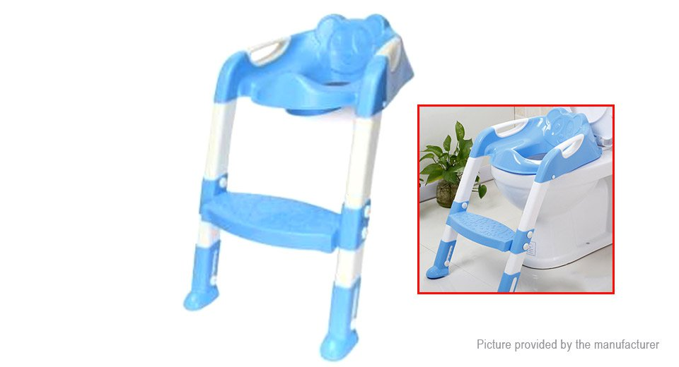 VANCY Baby Toddler Kids Potty Toilet Training Safety Adjustable Ladder Seat Chair