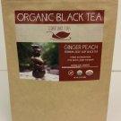 Organic Ginger Peach Tea - 2.4 oz Bulk
