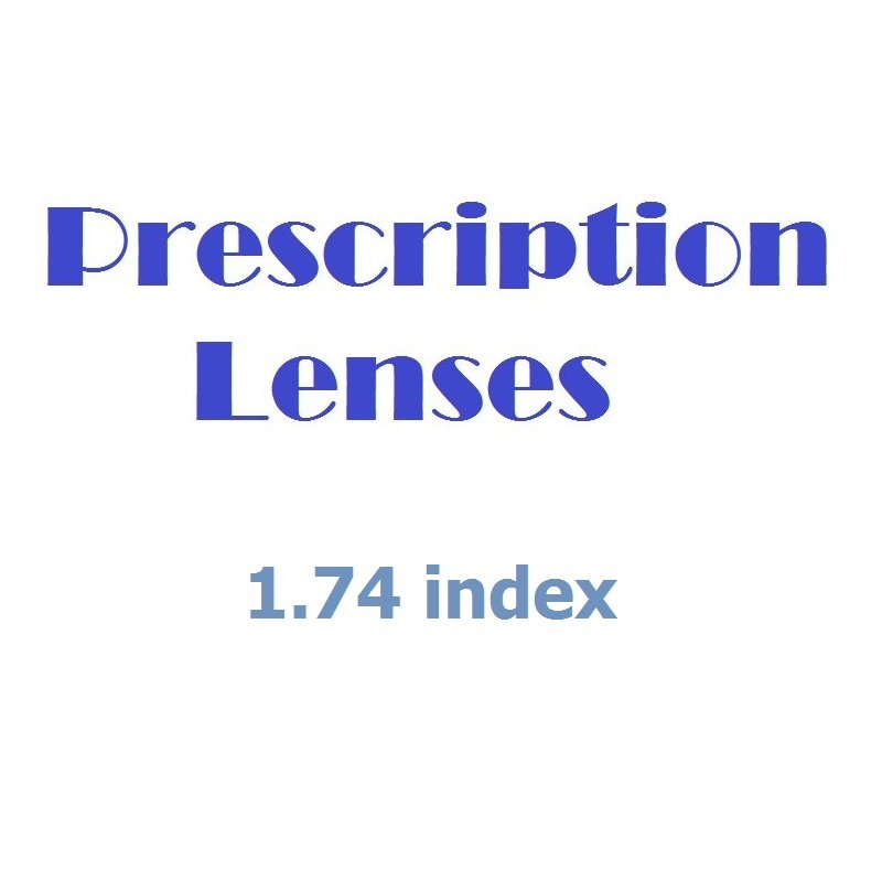 Glazing Service for Prescription Glasses - Platinum Pack (1.74 index).