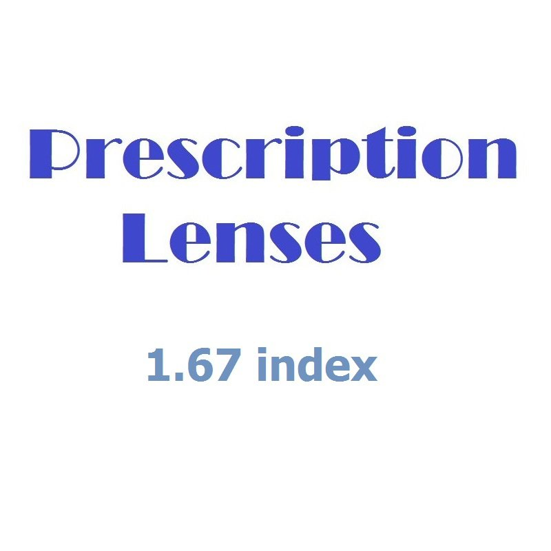 Glazing Service for Prescription Glasses - Gold Pack (1.67 index).