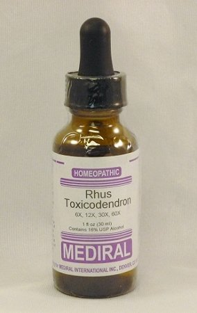 Poison Ivy Formula Homeopathic (Rhus Toxicodendron)
