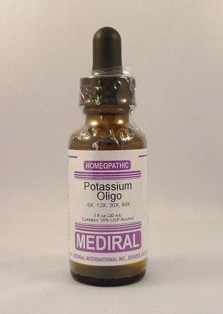 Potassium Oligo Homeopathic