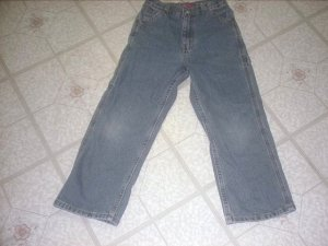 Faded Glory Carpenter Jeans size 7R NEW