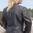 Women's Brown Distressed Leather jacket