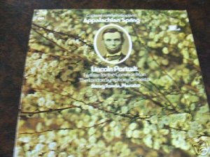 Appalachian Spring Lincoln Portrait 33 RPM Columbia