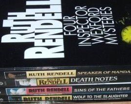 Four Inspector Wexford Mysteries Box Set Ruth Rendell