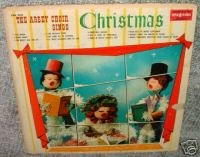 The Abbey Choir Sings Christmas, Spinorama Records 33 1/3 R.P.M.