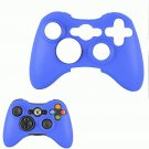 BLUE XBOX 360 CONTROLLER SKIN COVERS WITH FREE CONTROLLER STICK COVERS XBOX360