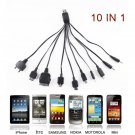 10 in 1 Universal Multi USB Charger Cable For Mobile Phones iPhone iPod And More