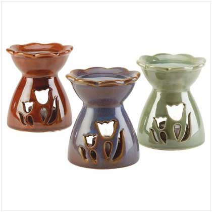 FLOWER OIL WARMER - 3 PACK