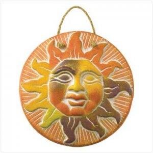 SUN FACE PLAQUE
