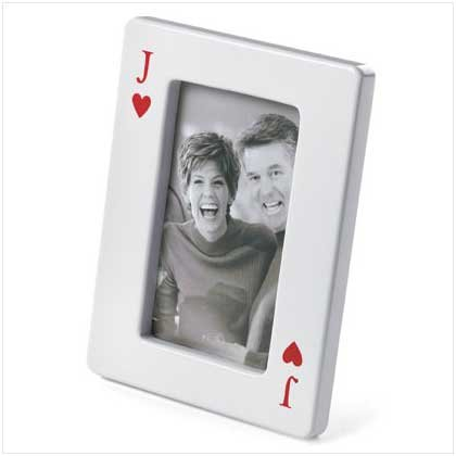 JACK OF HEARTS PHOTO FRAME
