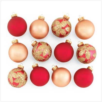 CHRISTMAS BALL ORNAMENT VARIETY PACK