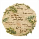 LOVE LETTERS WALL PLAQUE