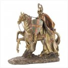 RIDING CRUSADER FIGURE