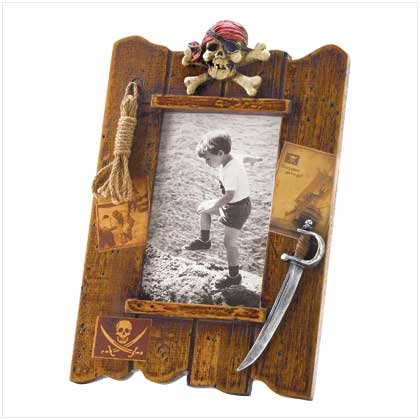 PIRATE PHOTO FRAME