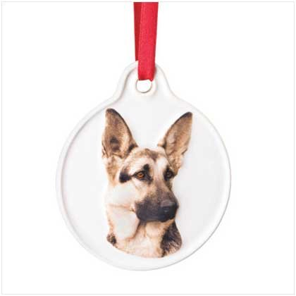 GERMAN SHEPHARD ORNAMENT