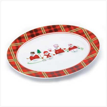 PERFECTLY PLAID SERVING PLATTER