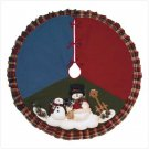 SNOWMEN TREE SKIRT