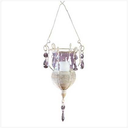 HANGING MINI-CHANDELIER SCONCE