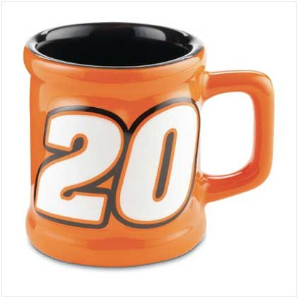 TONY STEWART DECAL MUG SHOT GLASS