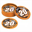 TONY STEWART TIN COASTERS