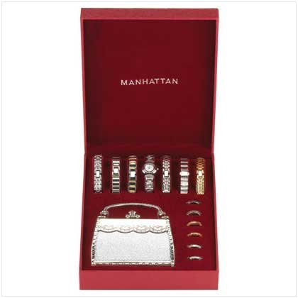 MANHATTAN WATCH SET