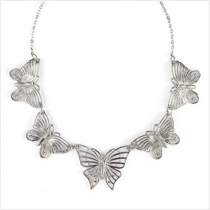 LACEWORK BUTTERFLY NECKLACE