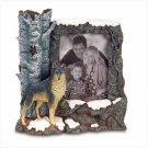 TIMBER WOLF PHOTO FRAME
