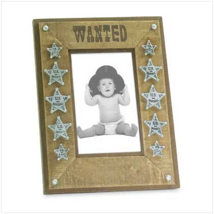 """WANTED"" FRAME"