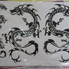 Dragon Stickers Lot of 3 large sheets