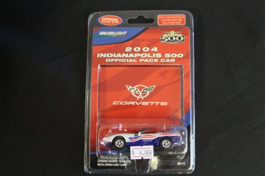Greenlight Indianapolis 500 2004 Corvette Official Pace Car 1/64