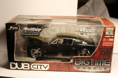 Jada Collectors Club 1/24 1967 Shelby GT-500KR Black