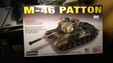 Lindberg 1/35 M-46 Patton Tank
