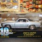 Ertl American Muscle 1969 COPO Camaro 1/18 Silver