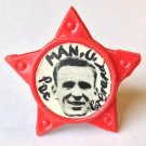 Pat Crerand Man Utd Vintage Star Badge