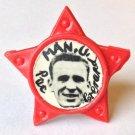 Pat Crerand Man Utd Vintage Star Badge