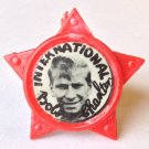 Bobby Charlton Man Utd Vintage Star Badge