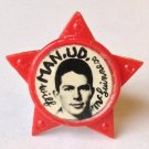 Wilf McGuinness Man Utd Vintage Star Badge