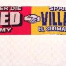 Man Utd v Villareal Scarf 2005-2006 Champions League