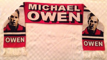 Michael Owen Manchester United Scarf