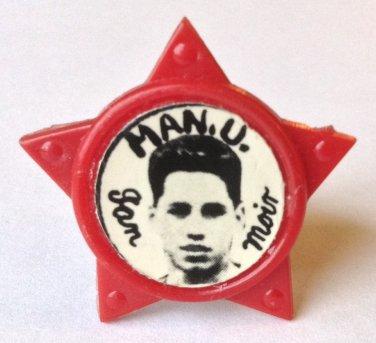 Ian Moir Man Utd Vintage Star Badge