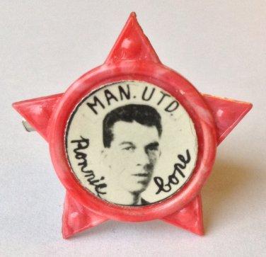 Ronnie Cope Man Utd Vintage Star Badge