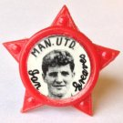 Ian Greaves Man Utd Vintage Star Badge