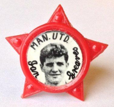 Ian Greaves Man Utd Vintage Star Badge