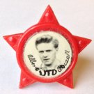 Albert Quixall Man Utd Vintage Star Badge