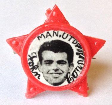 John Connelly Man Utd Vintage Star Badge