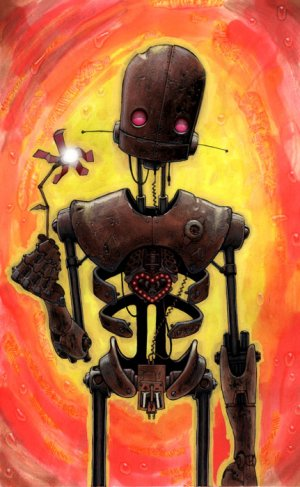 """LoveBot"" Limited Edition Art Print, Signed & Numbered"